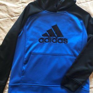 Adidas hoodie sweatshirt youth Large Boys